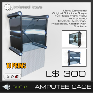 Amputee Cage